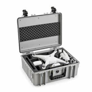 B&W Flightcase type 6000 DJI Phantom 4/4Pro/4Adv/4Obsidian/4Pro V2.0 - Grijs