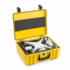B&W Flightcase type 6000 DJI Phantom 4/4Pro/4Adv/4Obsidian/4Pro V2.0 - Geel