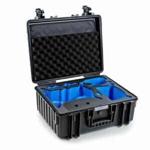 B&W Flightcase type 6000 DJI FPV Combo - Zwart