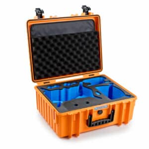B&W Flightcase type 6000 DJI FPV Combo - Oranje