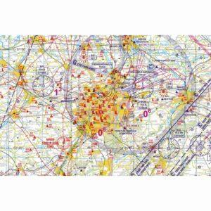 Low Air VFR Chart Belgium - 2019