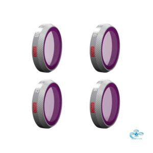 PGYTECH - DJI Mavic 2 Zoom ND Filter set Pro- 4 pak (ND8/16/32/64)