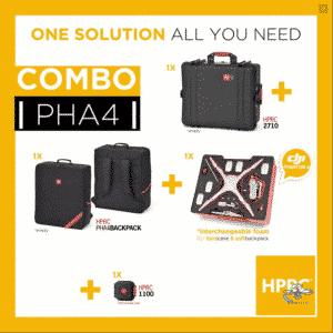HPRC HPRC2710 + Softbag voor DJI Phantom 4/4Pro/4Pro+ (verwisselbare foam)