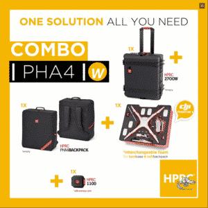 HPRC HPRC2700 + Softbag voor DJI Phantom 4/4Pro/4Pro+ (verwisselbare foam)