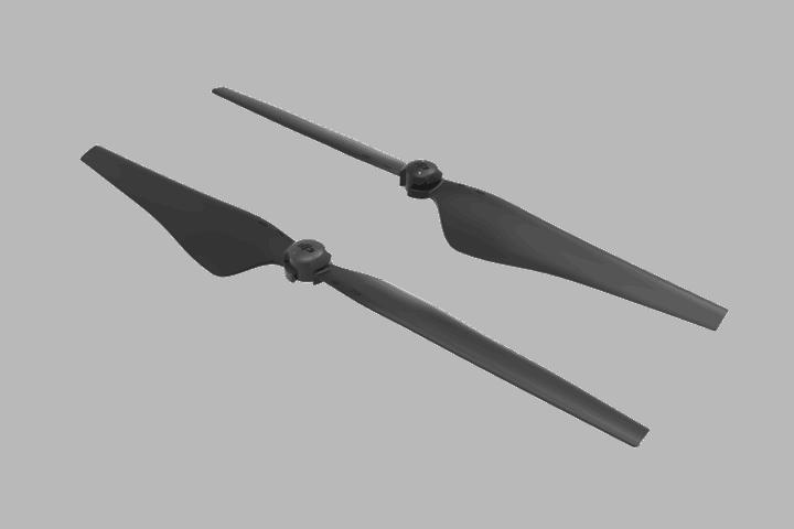 DJI Inspire 2 - Quick Release Propellers (High Altitude) - Part 11