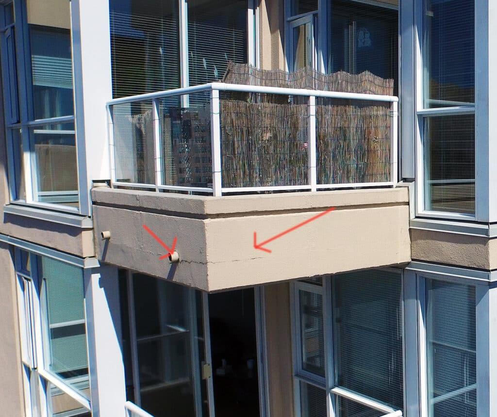 gebouw inspectie - detail