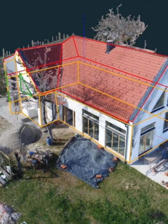 3Dsurvey - renovatie huis opmeting