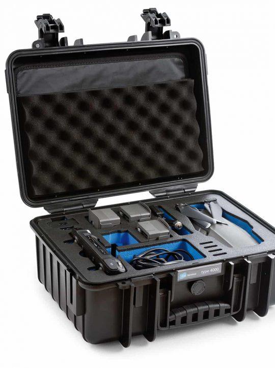 B&W Flightcase type 4000 DJI Mavic 2 met Smart Controller - Zwart